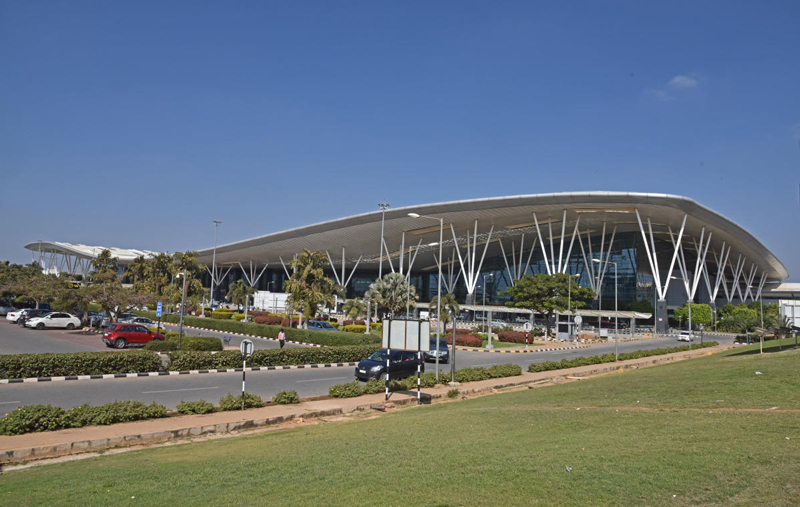 Since its commercial launch in 2008, the Bengaluru airport has emerged as India's third busiest, after Mumbai and Delhi. (DH File Photo)