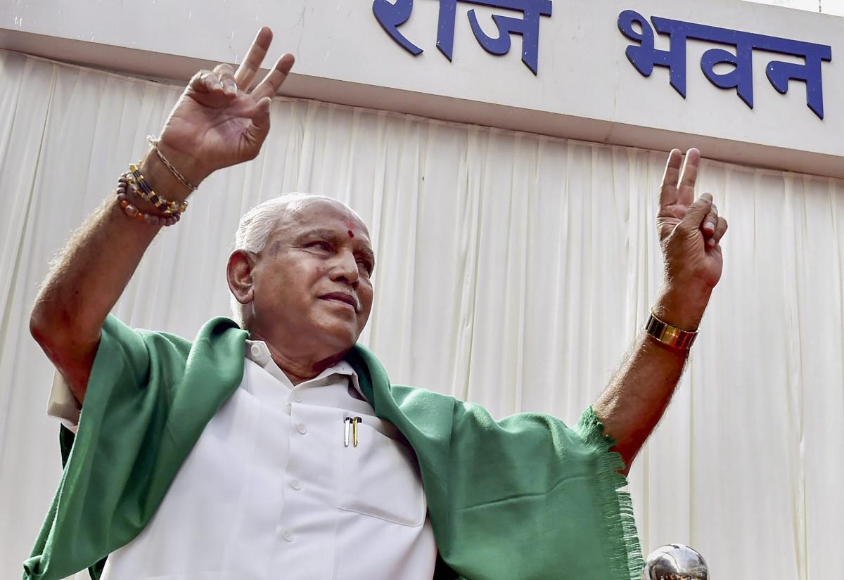 Chief Minister B S Yeddyurappa has said that he was confident of winning the majority. DH photo