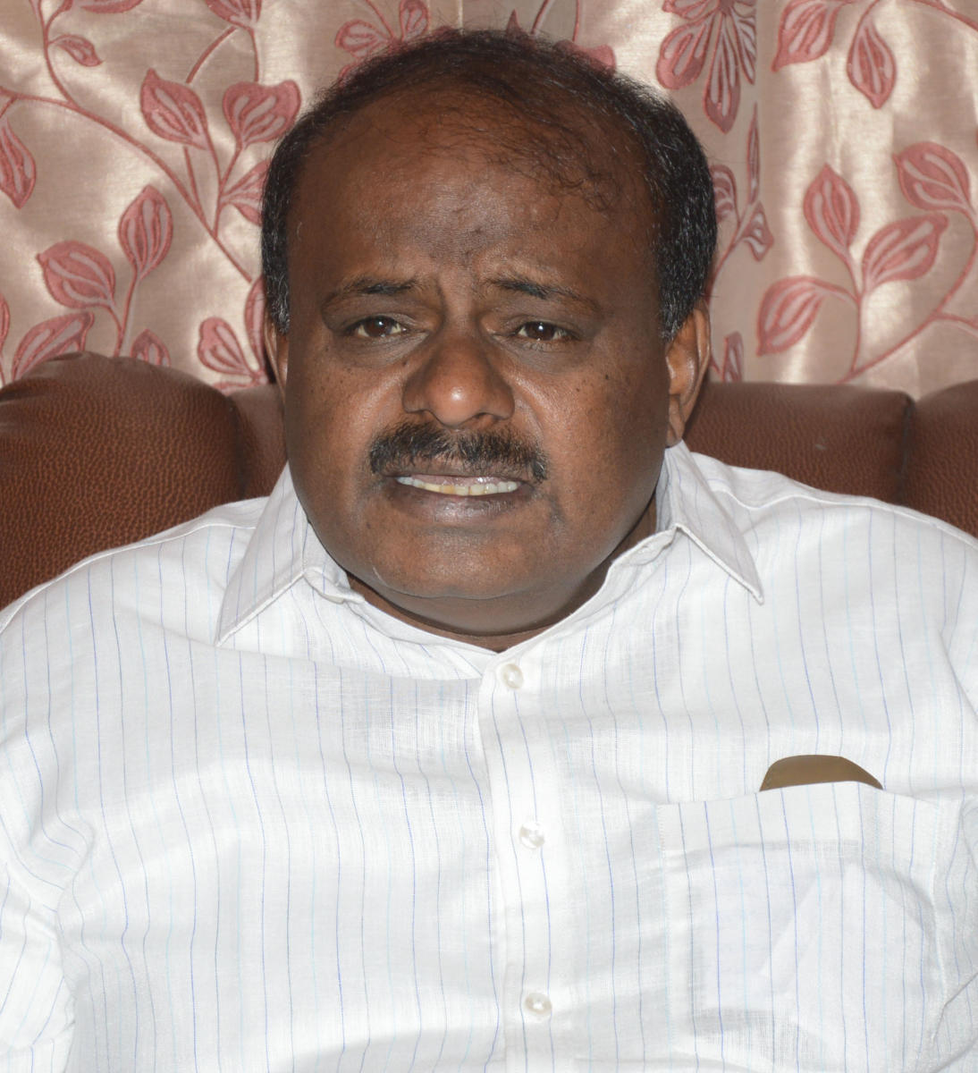 During his day-long visit, the CM Kumaraswamy will meet Prime Minister Narendra Modi and also visit Rajghat. (File photo)