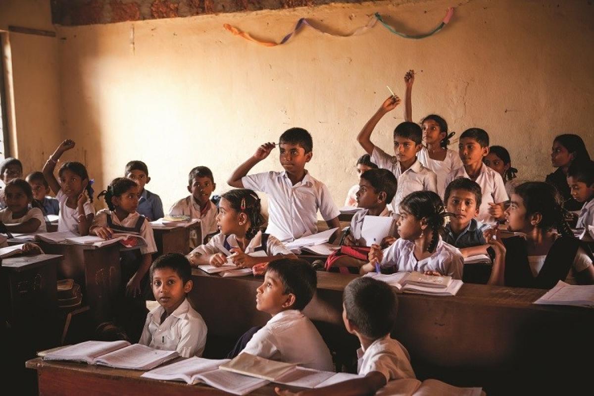 A government school classroom. DH File Photo