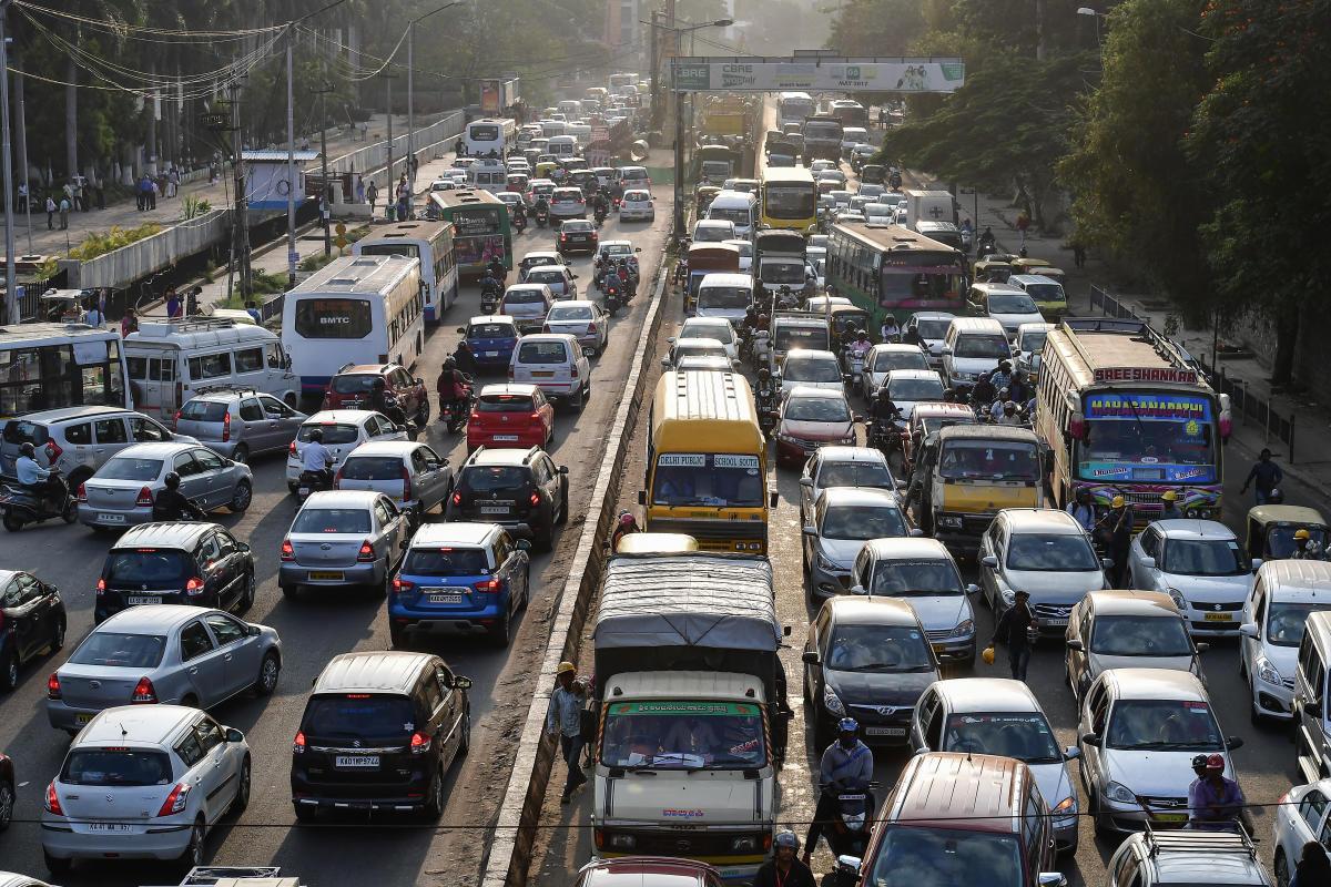 Travel in Bengaluru during peak hours takes 162% longer than during non-peak hours.