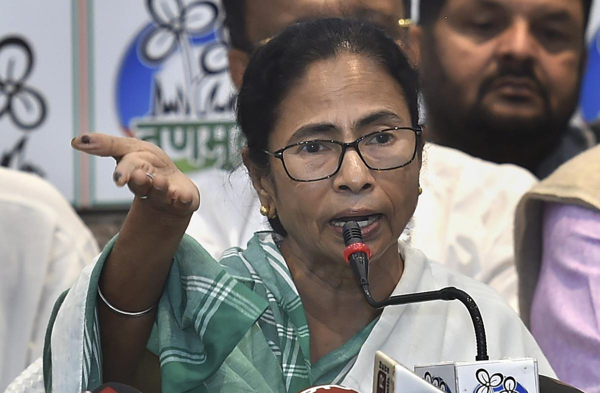 """""""What is the reason behind demanding that all booths be declared sensitive in the state? This is an insult to the people of Bengal. The BJP can't win a single seat in West Bengal. That is why they are trying to hide behind the central forces,"""" Banerjee to"""