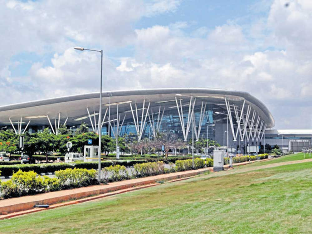 The Kempegowda International Airport (KIA). File photo