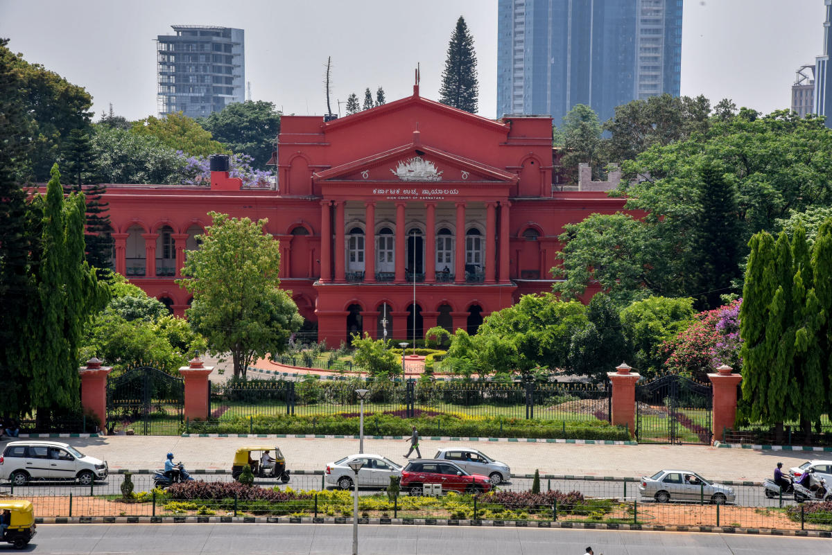 High Court Building in Bengaluru. Photo by S K Dinesh