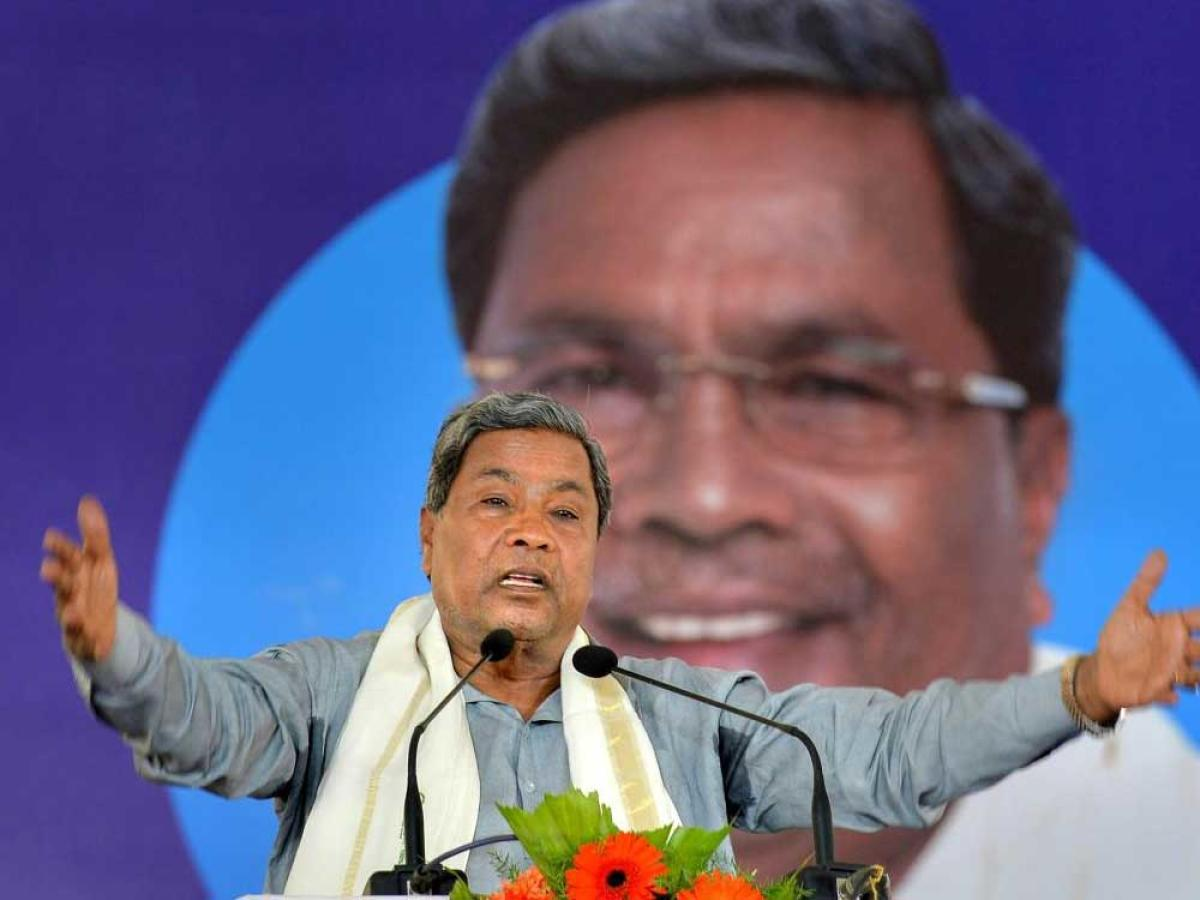 """Karnataka Chief Minister Siddaramaiah today attacked the Modi-led government for """"not fulfilling"""" its several poll promises and said the state Assembly elections among other things will also be about """"broken promises"""" of the BJP. PTI file photo"""