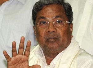 I'm neither backward nor scared: Siddaramaiah