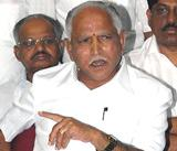 Dissidents refuse to meet Yeddyurappa