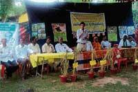 Organic farming fest in Mudigere
