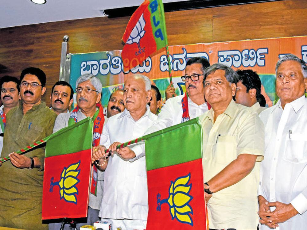 S M Krishna may join BJP on March 15 or 16: Yeddyurappa