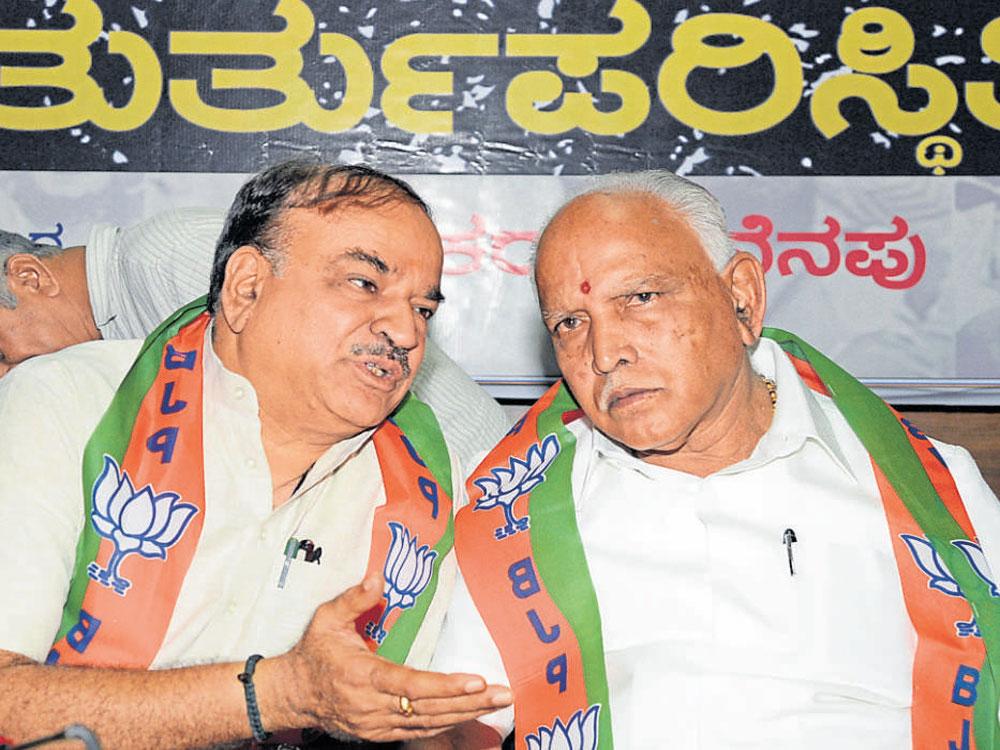 Kumar calls Siddaramaiah hypocrite