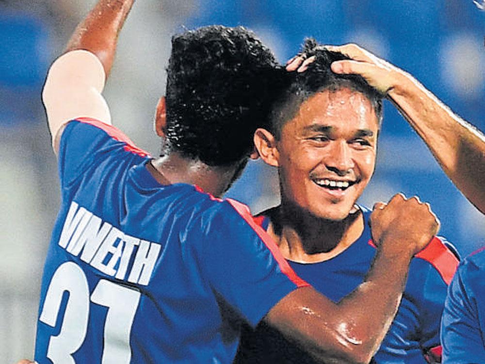 BFC retain Chhetri and Udanta for new season