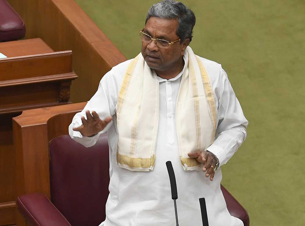 Liquor ban impossible, says Siddaramaiah