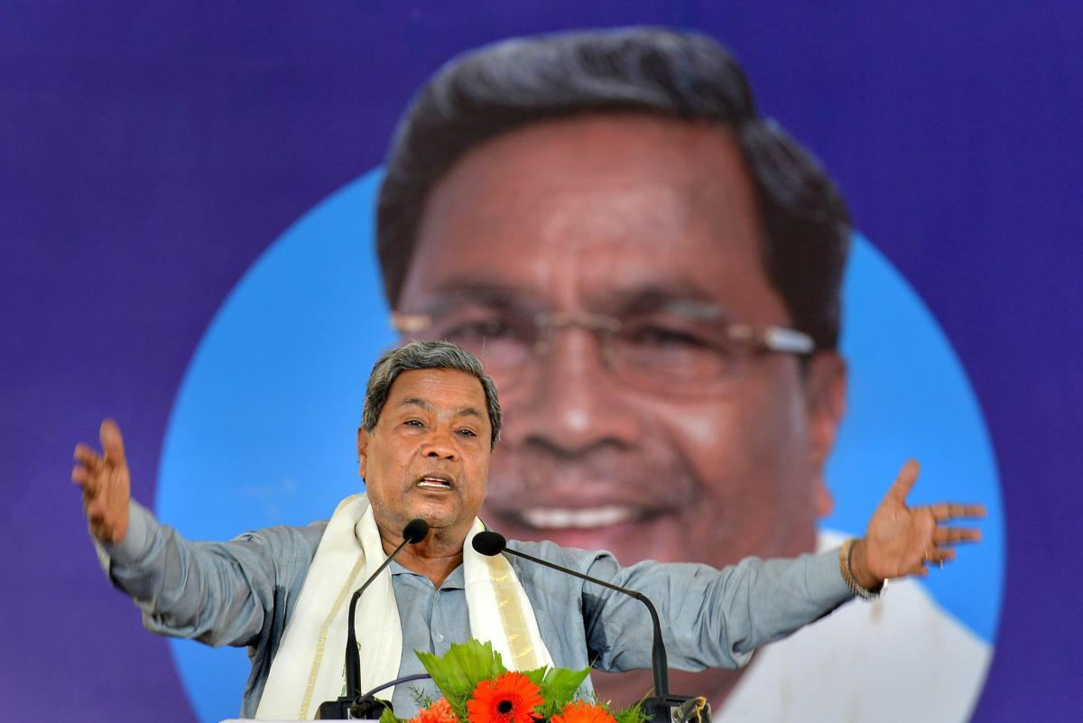 Siddaramaiah rebuts Amit Shah's remarks on central aid