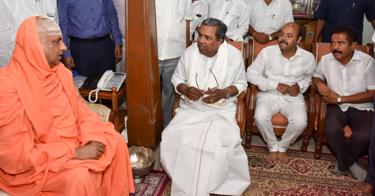 Never lured voters with money: CM Siddaramaiah