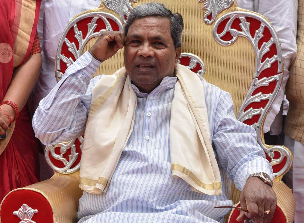 CM Siddaramaiah firm on contesting from Chamundeshwari