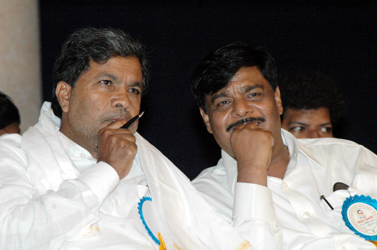 Mysureans Siddaramaiah, Mahadevappa may not be best of friends any more