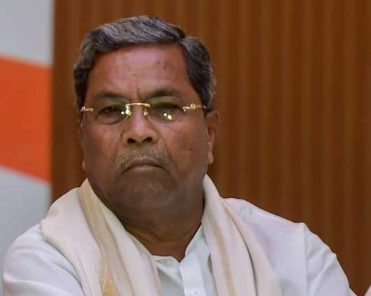 In picture: former chief minister Siddaramaiah. PTI file photo.
