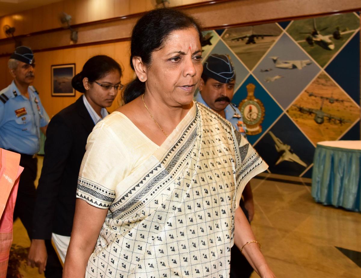 Union Defence Minister Nirmala Sitharaman. DH File Photo
