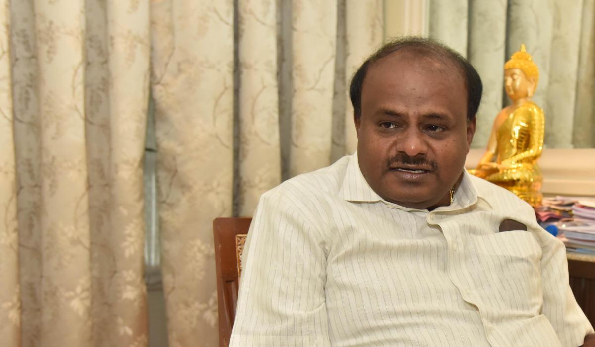 Karnataka Chief Minister H D Kumaraswamy. DH file photo