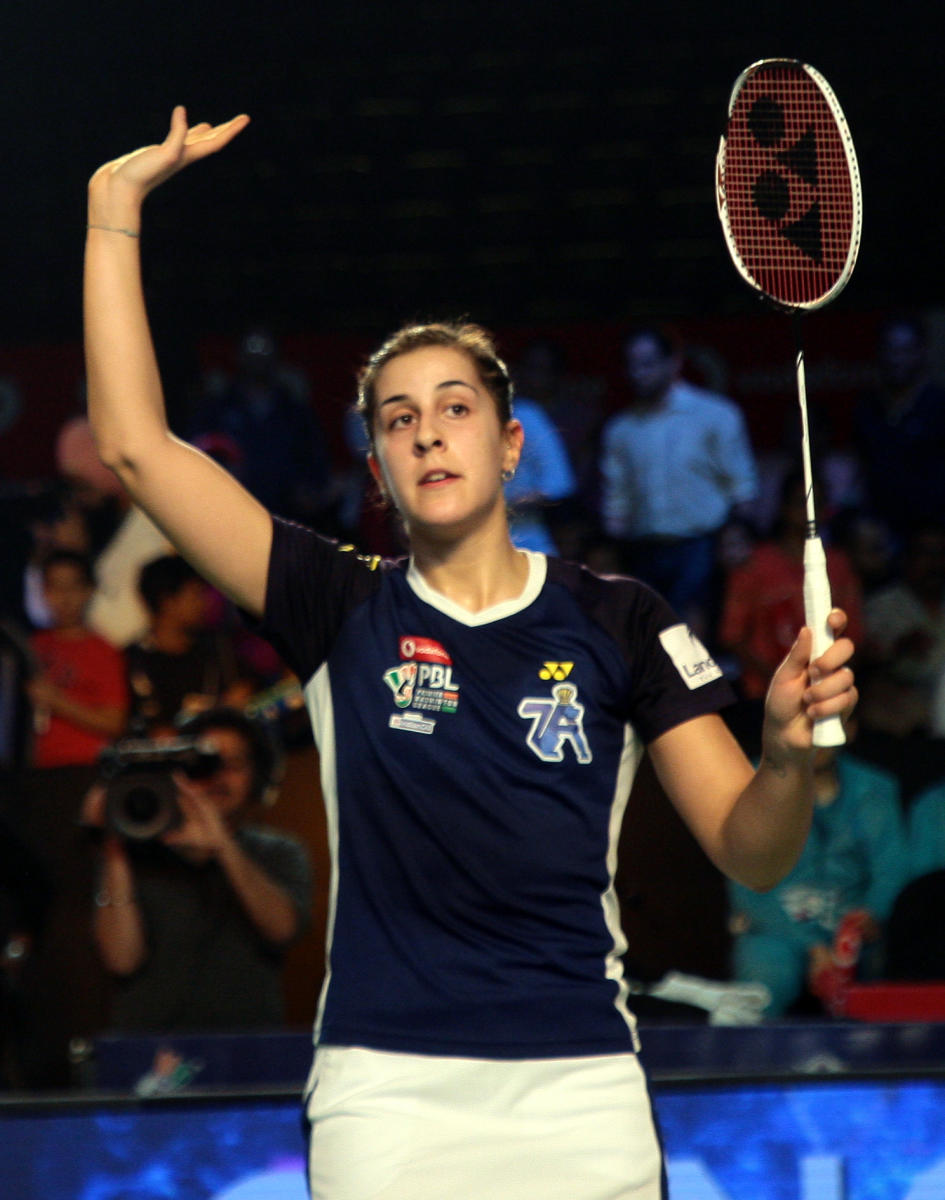 Carolina Marin is aiming high in the 2020 Olympics.