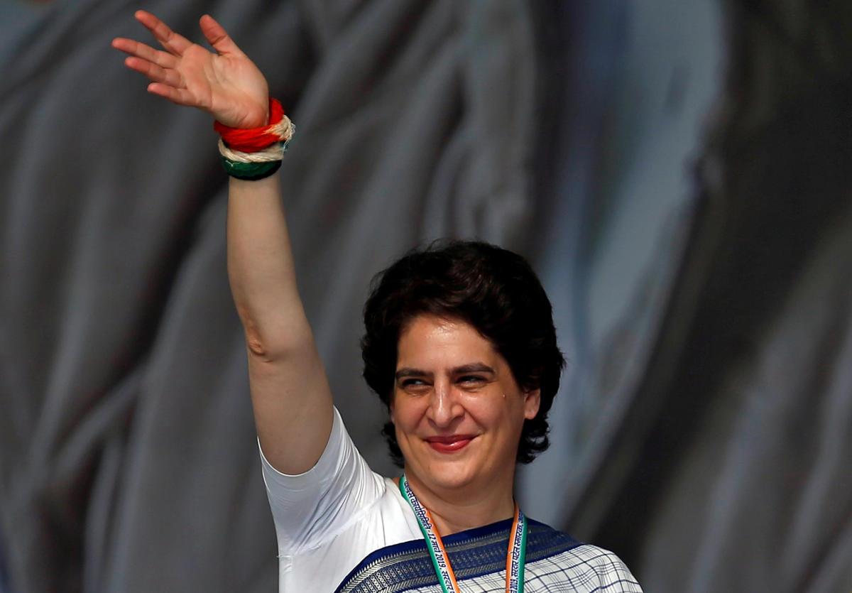 Congress general secretary Priyanka Gandhi Vadra. Reuters file photo