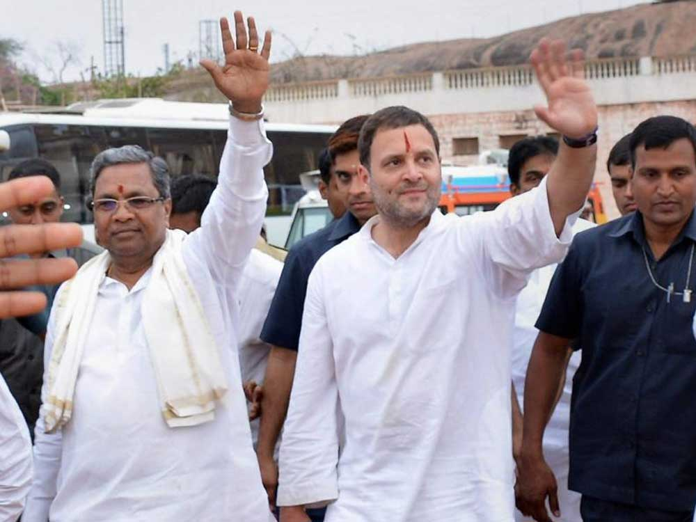 Chief Minister Siddaramaiah on Friday said he will take a decision on Saturday morning on contesting from Badami in Bagalkot district after a discussion with AICC president Rahul Gandhi. DH file photo