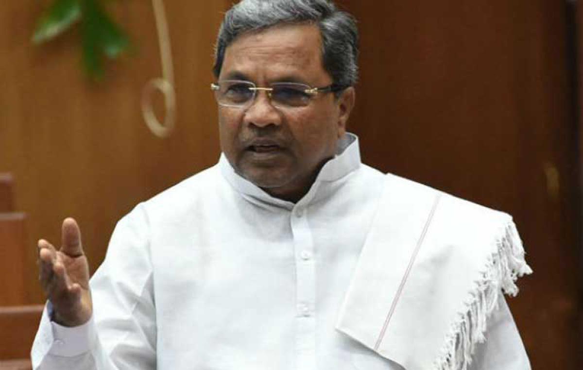 Former chief minister Siddaramaiah. DH file photo
