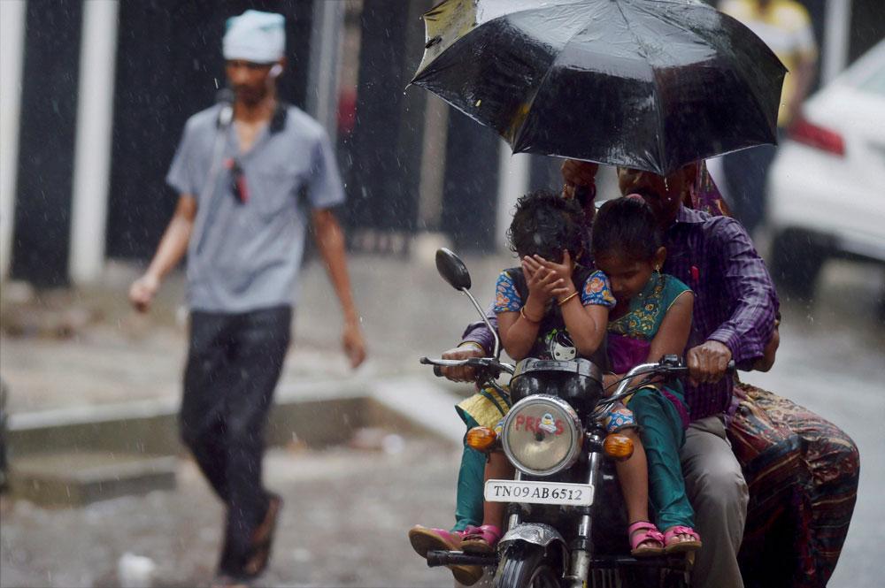 Rain relents in Chennai