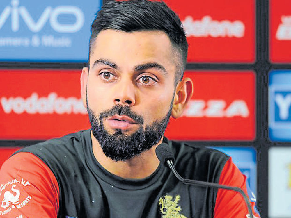 Kohli, however, exuded confidence but requested the fans not to exert too much pressure on the team. (DH File Photo)