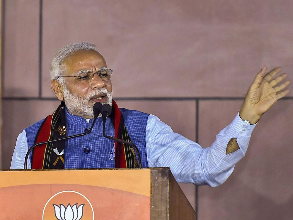 Govt's commitment is to peace, its people, territory: PM at DefExpo