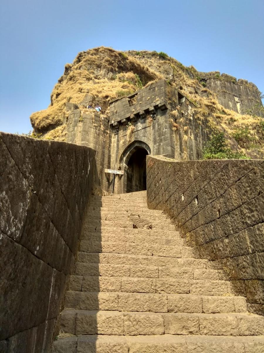 Lohgad was one of the prominent hill forts of the Maratha Empire.