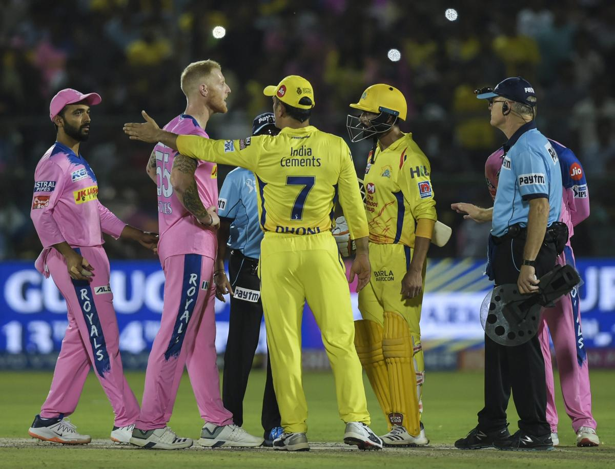 Dhoni fined for crossing the line