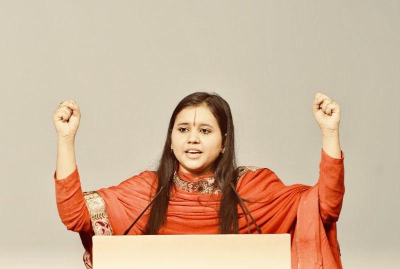 Sadhvi Saraswati. File photo. Source: Twitter/SadhviSaraswati