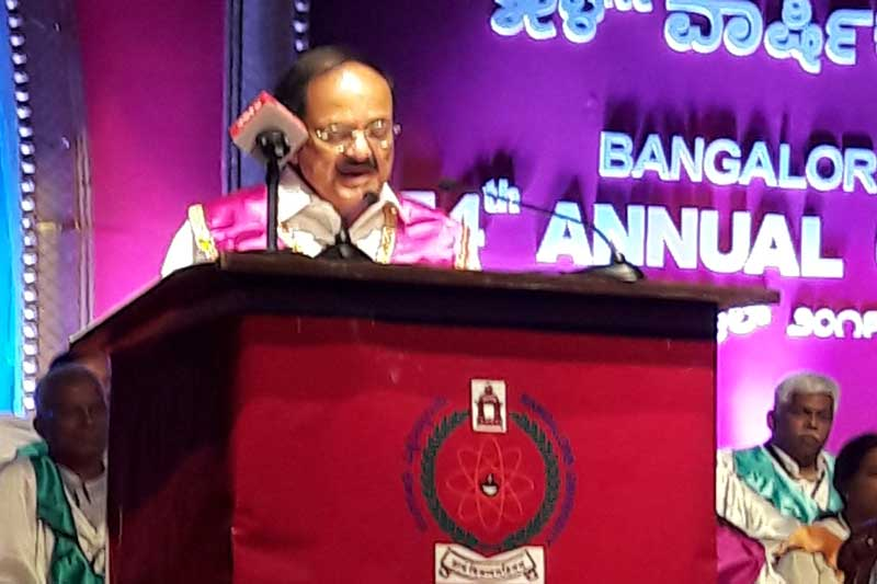 No country is safe: Venkaiah Naidu