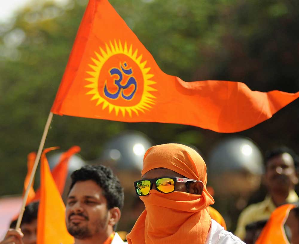 Bajrang Dal workers threaten Youth Congress president