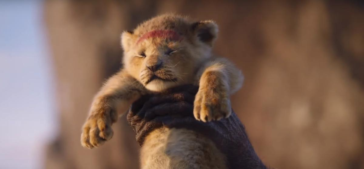 The Lion King comes in live-action now