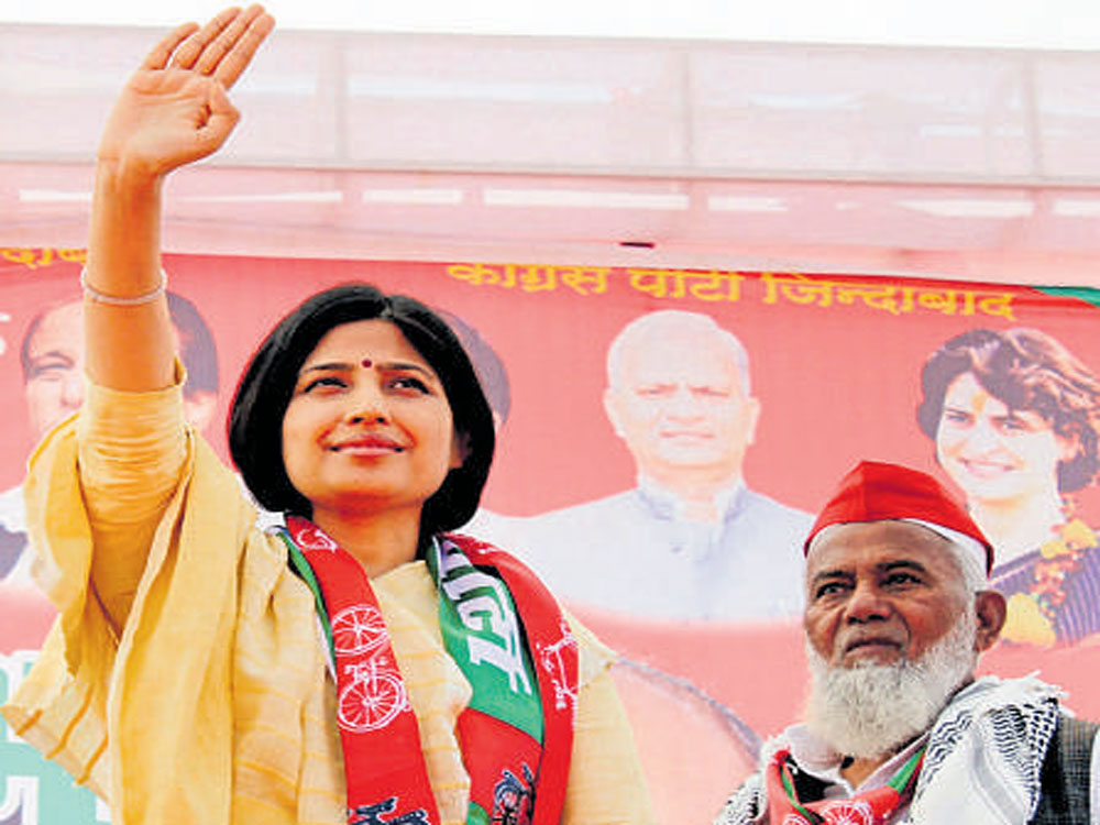 Dimple Yadav may contest Rampur bypoll