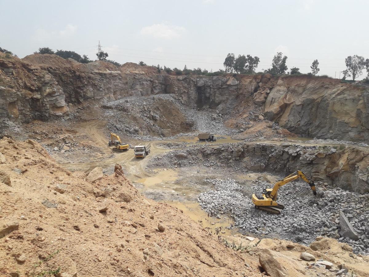 Last year, the department collected a meagre Rs 37 crore as penalty from quarries for illegal lifting and transportation of minerals.