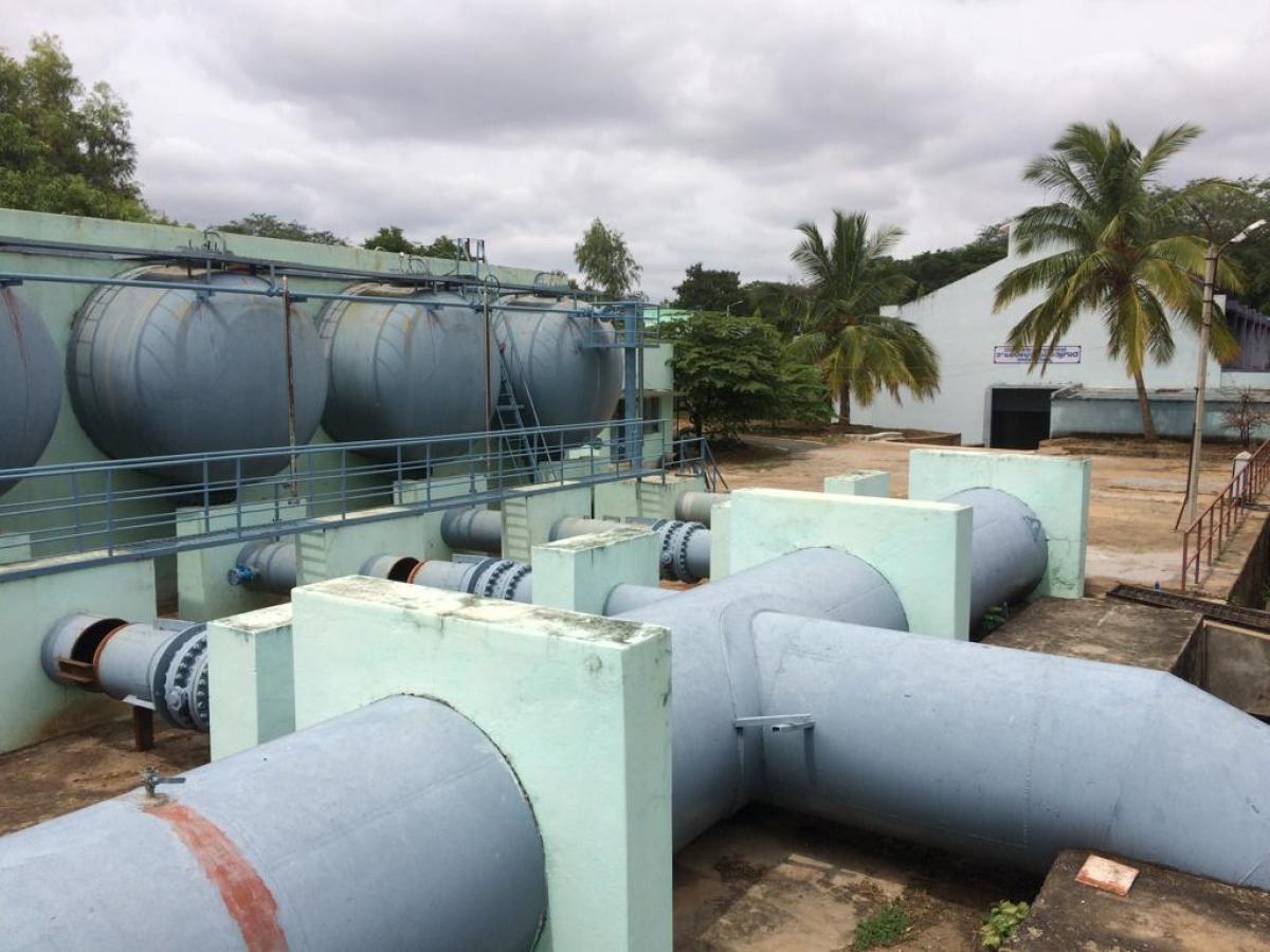 Pumping shut: No water supply today, tomorrow