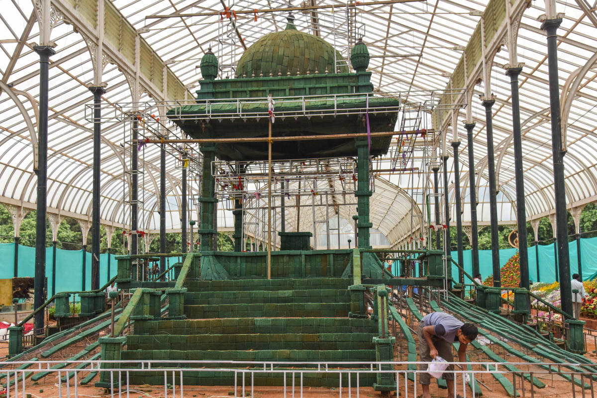 30 lakh blooms to grace Lalbagh this I-Day