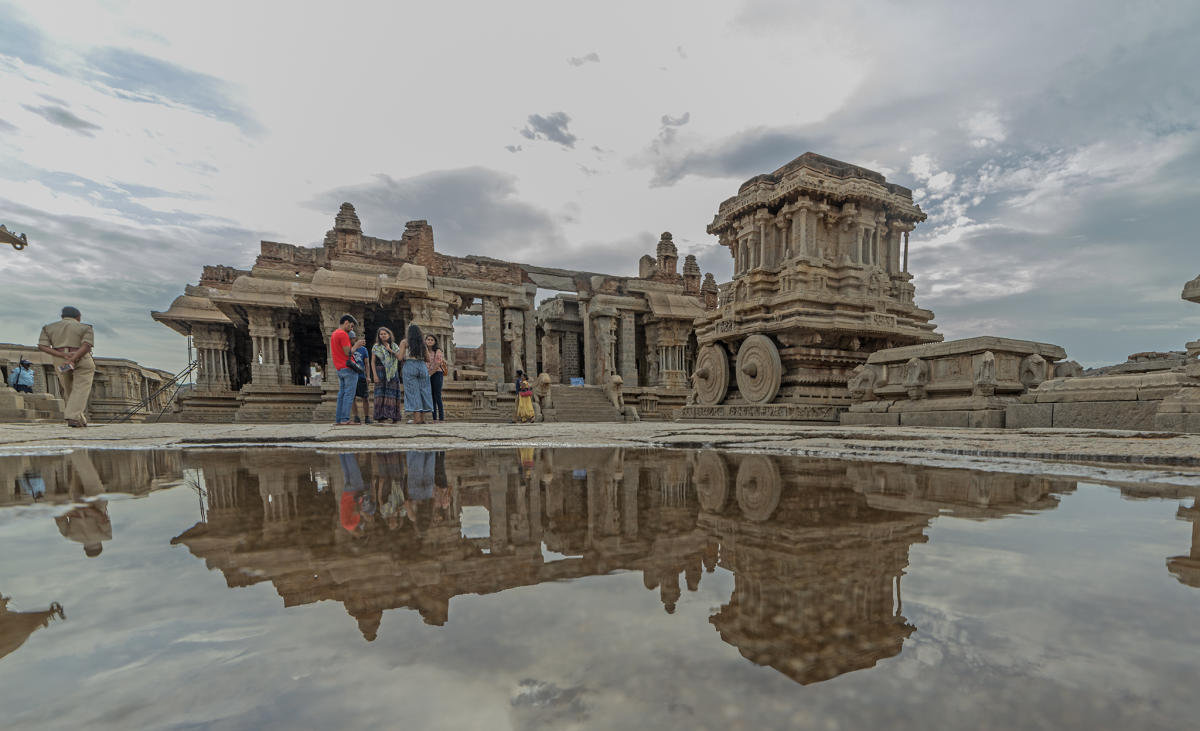 No damage to monuments reported in Hampi, Pattadakal