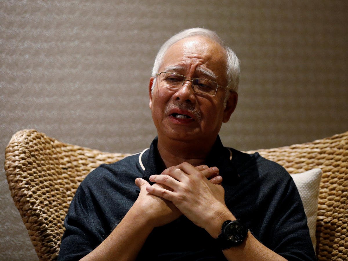 Malaysia's former prime minister Najib Razak during an interview in Langkawi, Malaysia on June 19, 2018. Reuters