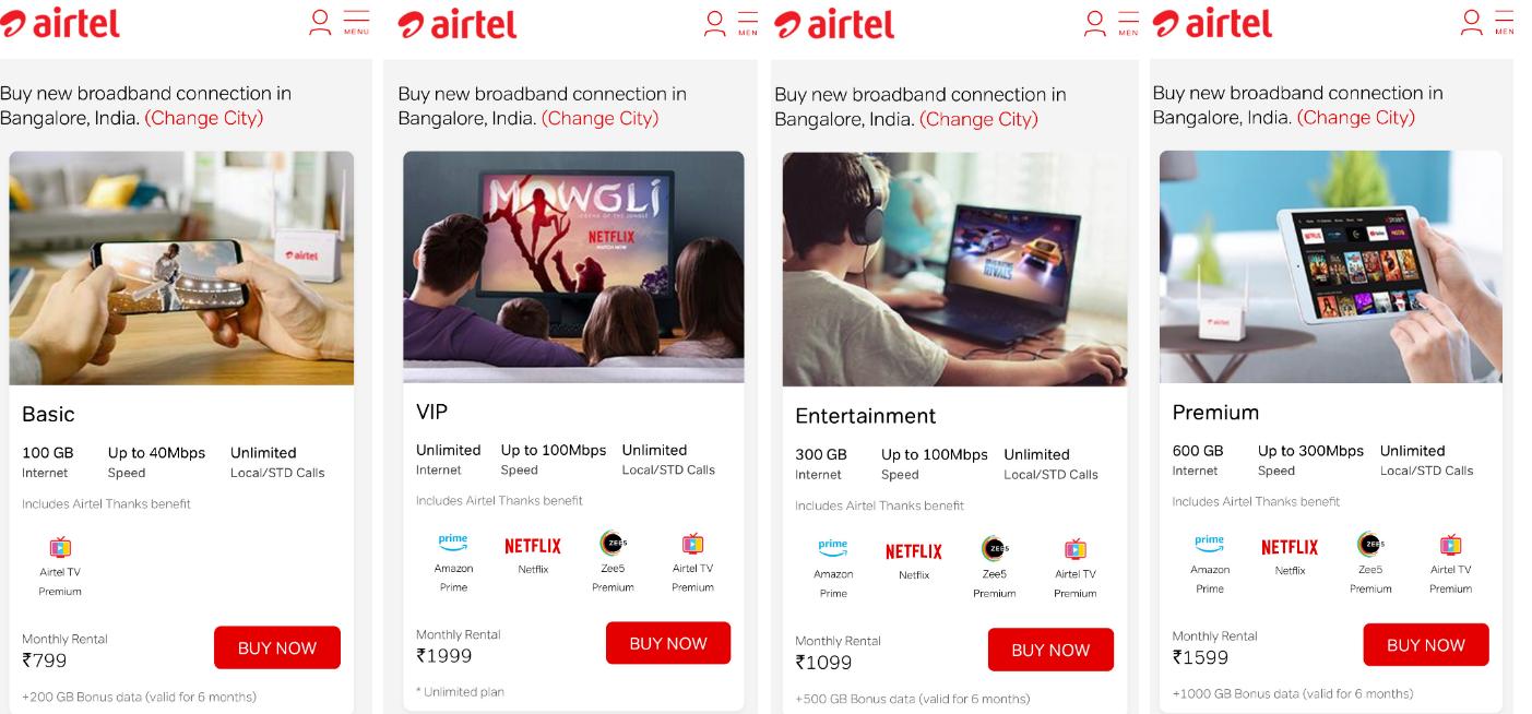 Reliance vs Airtel: New V-Fiber plans take on JioFiber