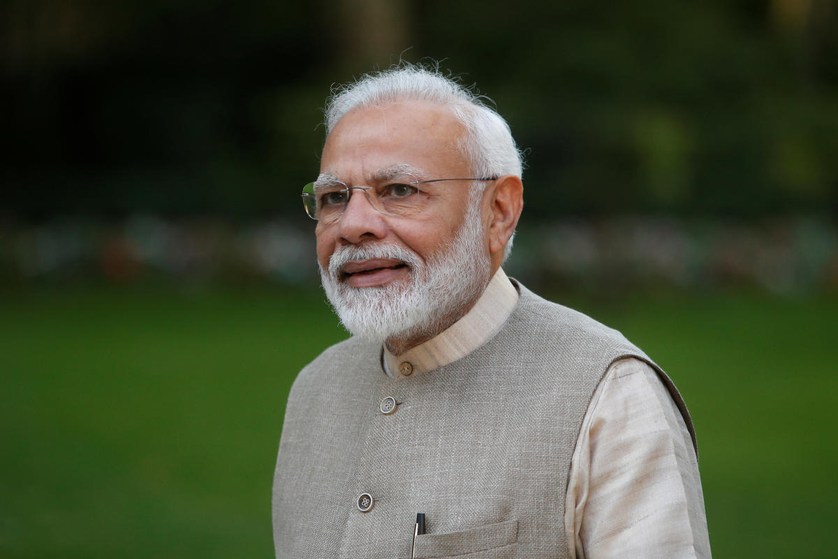 Modi opens memorial of Air India crashes in France