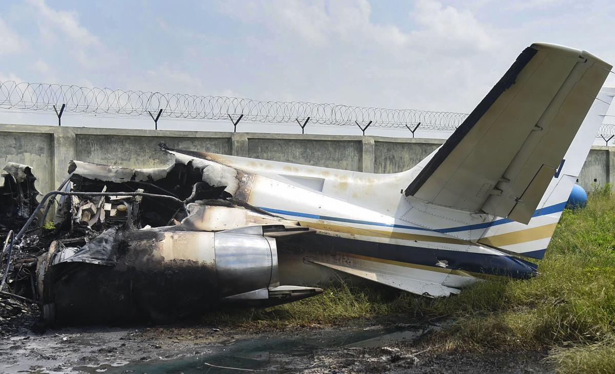 Chartered plane crashes in Aligarh, six on board safe