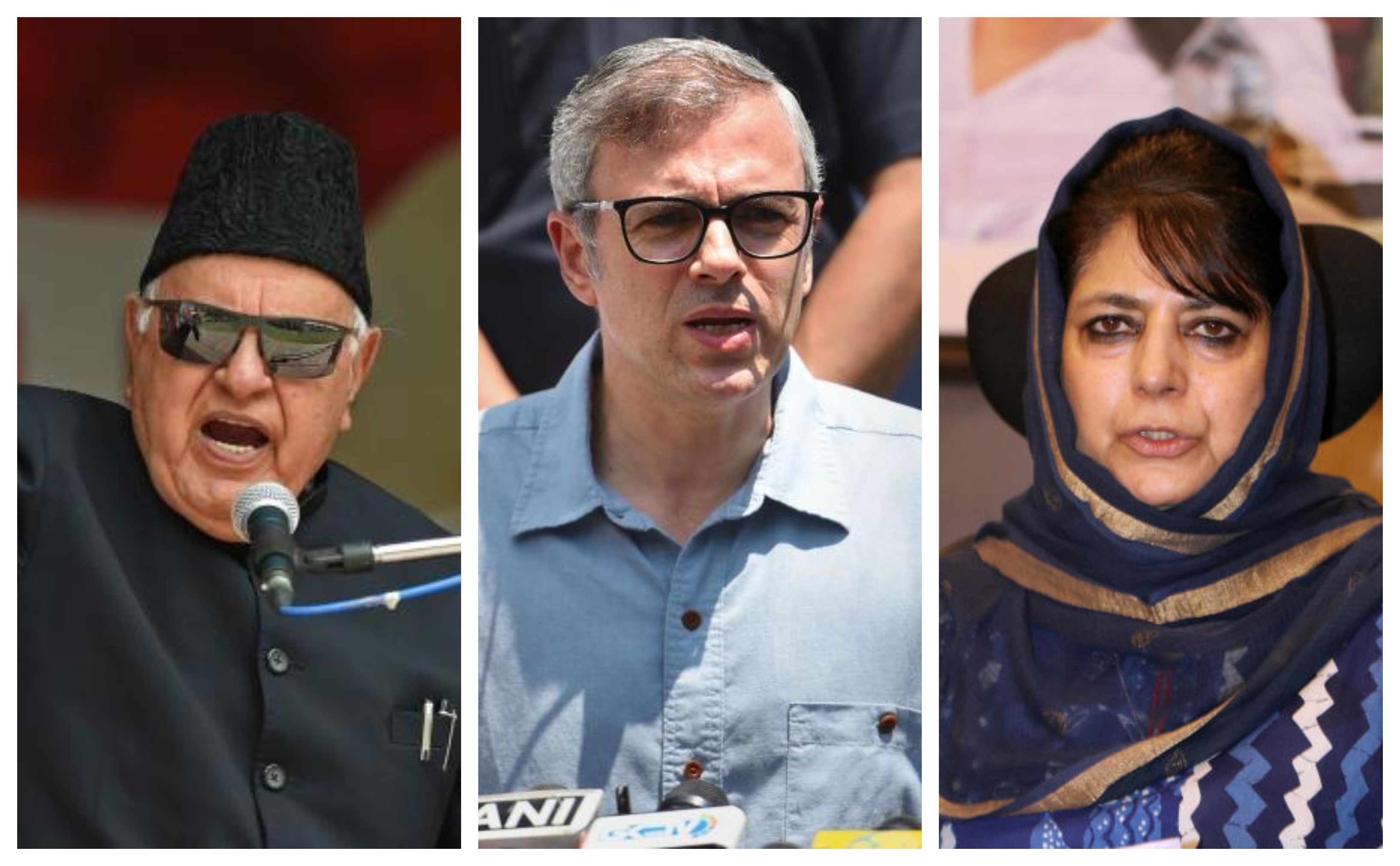 Three former CMs caged in Kashmir; separatists free