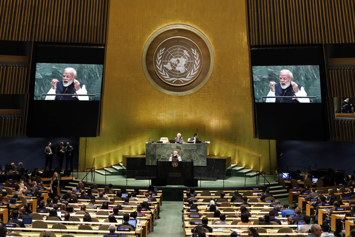 India among 34 UN members to pay regular budget dues