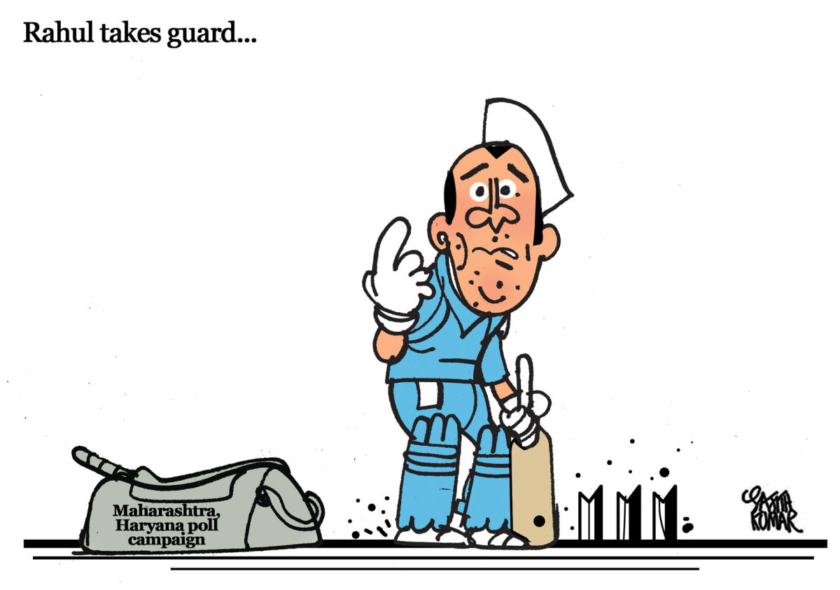 Maha, Haryana poll campaigns: Rahul Gandhi takes guard