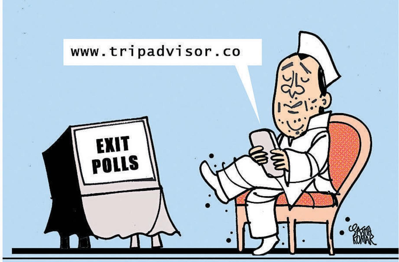 BJP to win in Maharashtra, Haryana: Exit polls