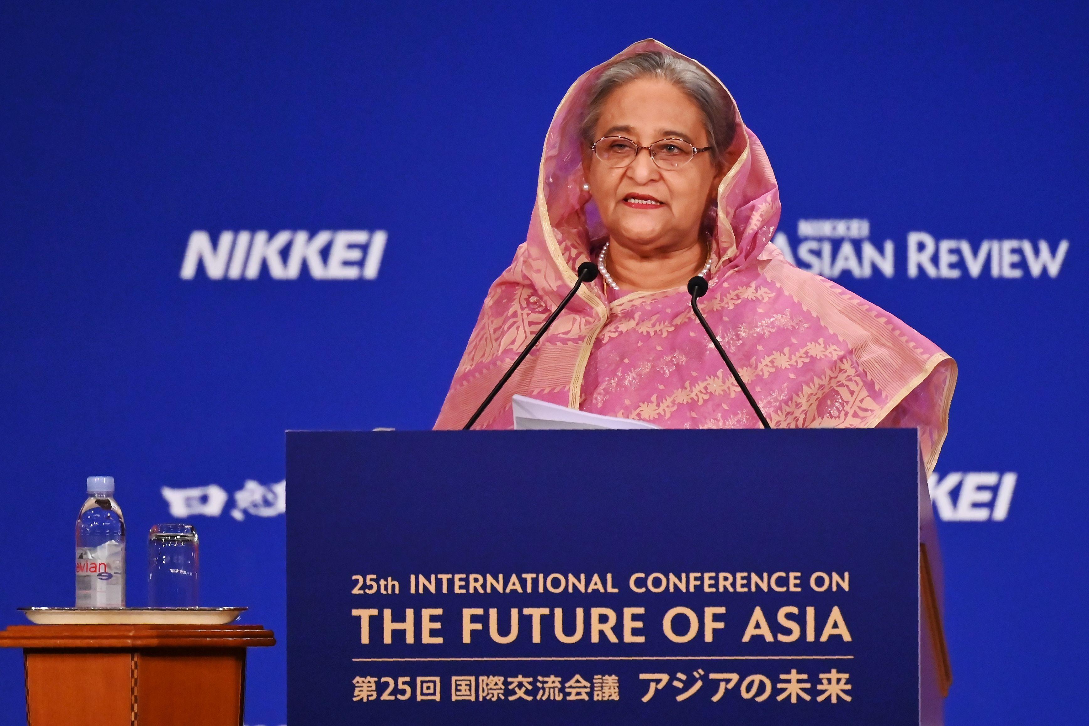 Rohingyas 'threat' to national security: Bangladesh PM